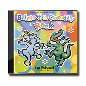 Billygoat and Crocodilly Rock by Ken McDonald